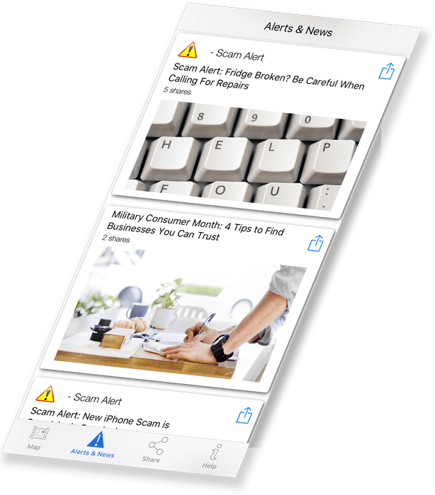 Better Business Bureau app by Matraex